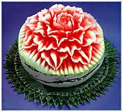 Watermeloncarvingflower