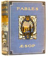 Aesopfablesrarebookbookcover