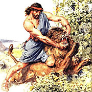 Samson_killing_lion