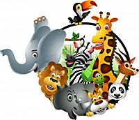 14691505wildafricananimalcartoon