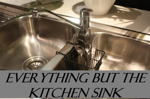 Everythingbutthekitchensinkidiom