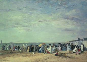 Boudin_beach_of_trouville