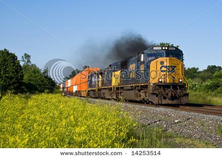 Stockphotocsxtfreighttrain14253514