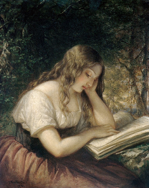 Daniel_huntington_woman_reading