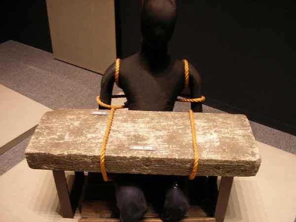 江戸の拷問「石抱き」: ケペル先...