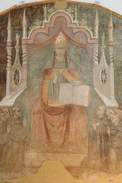 ローマ法王ケレスティヌス5世の...